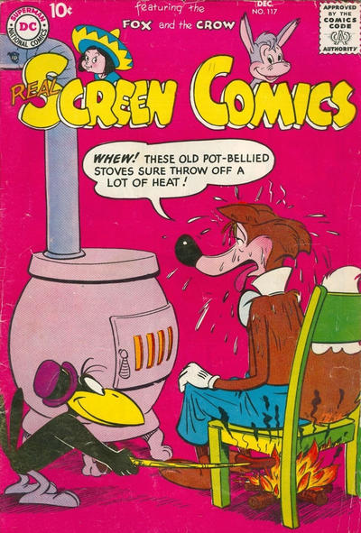 Cover for Real Screen Comics (DC, 1945 series) #117
