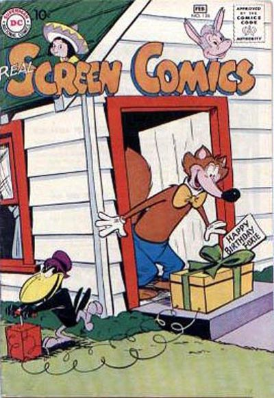 Cover for Real Screen Comics (DC, 1945 series) #126