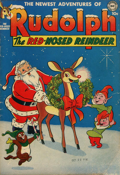 Cover for Rudolph the Red-Nosed Reindeer (DC, 1950 series) #[2 1951]