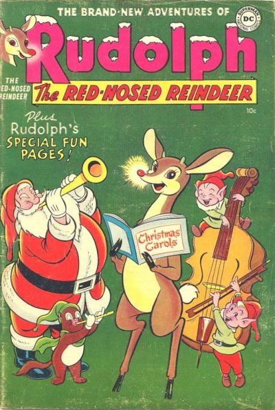 Cover for Rudolph the Red-Nosed Reindeer (DC, 1950 series) #[5 1954]