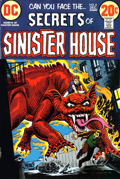 Cover for Secrets of Sinister House (DC, 1972 series) #8
