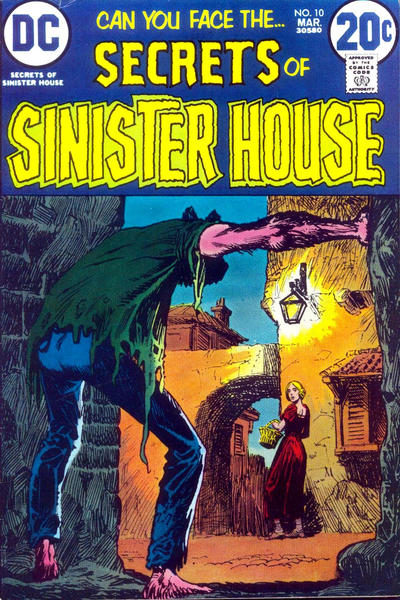 Cover for Secrets of Sinister House (DC, 1972 series) #10