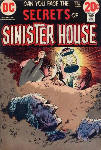 Cover for Secrets of Sinister House (DC, 1972 series) #11