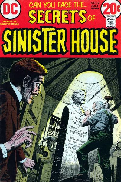 Cover for Secrets of Sinister House (DC, 1972 series) #12