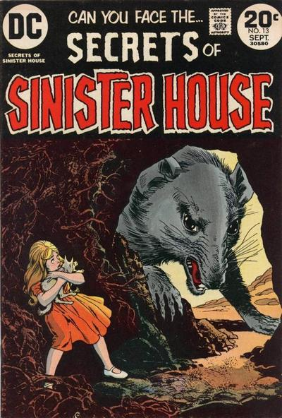 Cover for Secrets of Sinister House (DC, 1972 series) #13