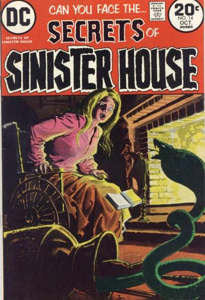 Cover for Secrets of Sinister House (DC, 1972 series) #14