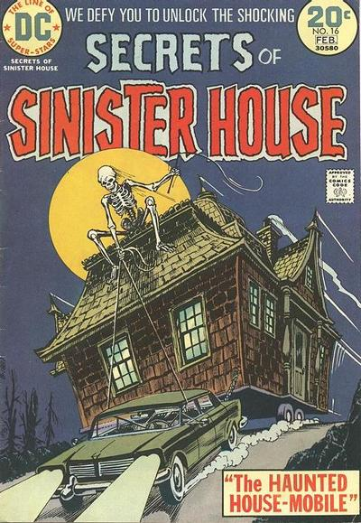 Cover for Secrets of Sinister House (DC, 1972 series) #16