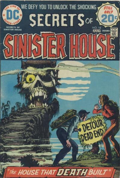 Cover for Secrets of Sinister House (DC, 1972 series) #18