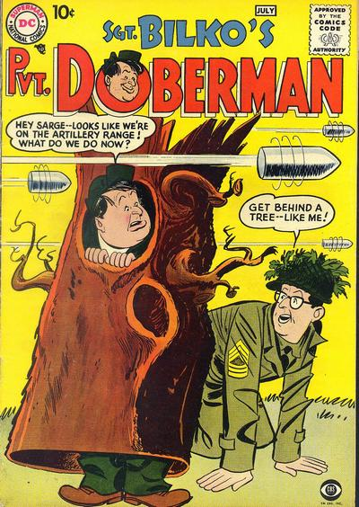 Cover for Sgt. Bilko's Pvt. Doberman (DC, 1958 series) #1