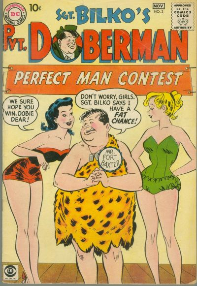 Cover for Sgt. Bilko's Pvt. Doberman (DC, 1958 series) #3