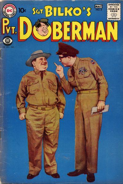 Cover for Sgt. Bilko's Pvt. Doberman (DC, 1958 series) #6