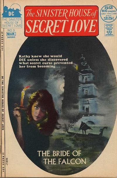 Cover for The Sinister House of Secret Love (DC, 1971 series) #3