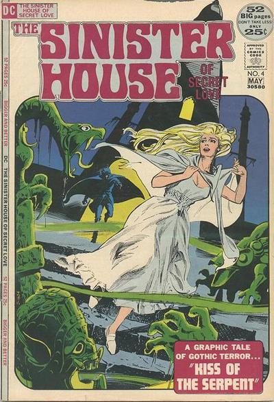 Cover for The Sinister House of Secret Love (DC, 1971 series) #4