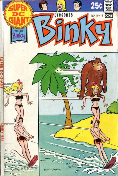 Cover for Super DC Giant (DC, 1970 series) #S-13
