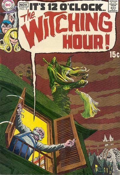 Cover for The Witching Hour (DC, 1969 series) #5