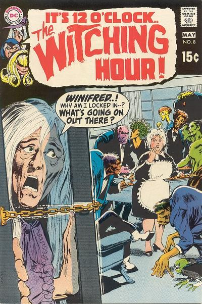 Cover for The Witching Hour (DC, 1969 series) #8