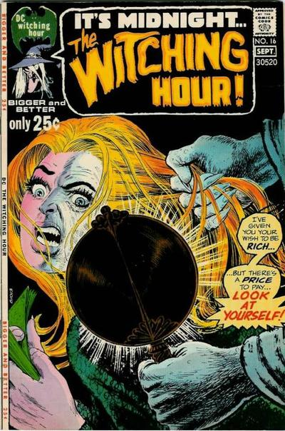 Cover for The Witching Hour (DC, 1969 series) #16