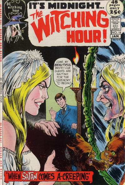 Cover for The Witching Hour (DC, 1969 series) #18
