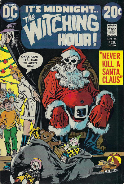 Cover for The Witching Hour (DC, 1969 series) #28