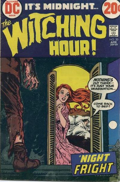 Cover for The Witching Hour (DC, 1969 series) #30