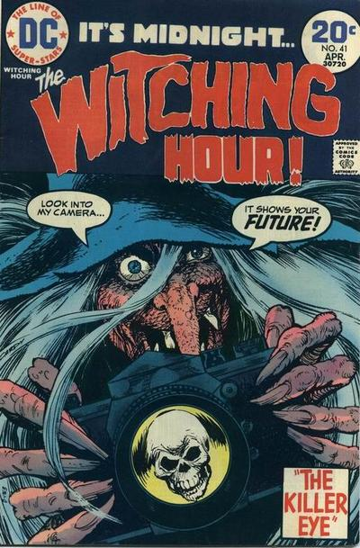 Cover for The Witching Hour (DC, 1969 series) #41