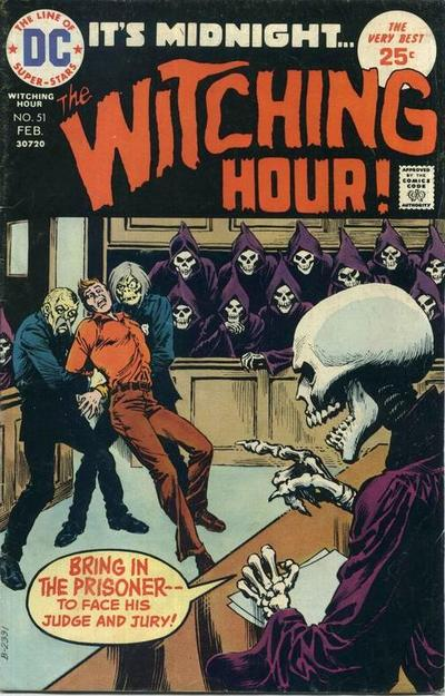 Cover for The Witching Hour (DC, 1969 series) #51