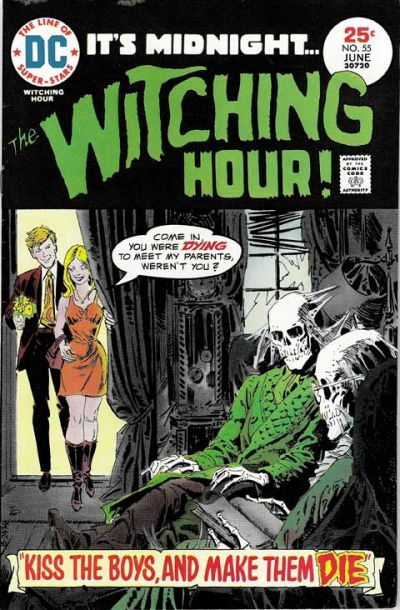 Cover for The Witching Hour (DC, 1969 series) #55