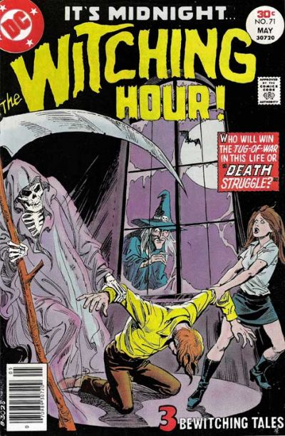 Cover for The Witching Hour (DC, 1969 series) #71