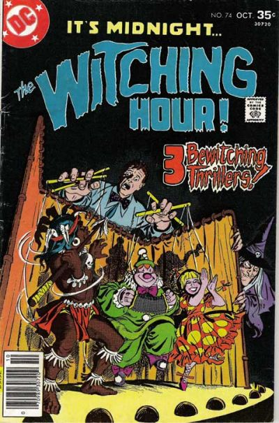 Cover for The Witching Hour (DC, 1969 series) #74