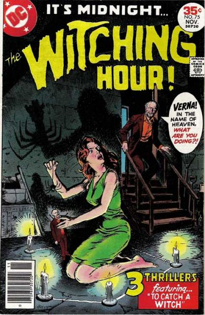 Cover for The Witching Hour (DC, 1969 series) #75
