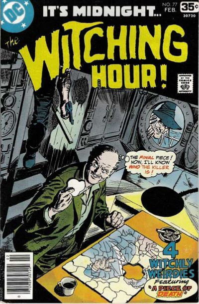 Cover for The Witching Hour (DC, 1969 series) #77