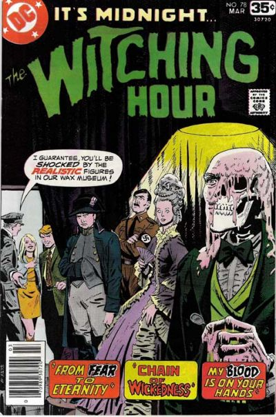 Cover for The Witching Hour (DC, 1969 series) #78