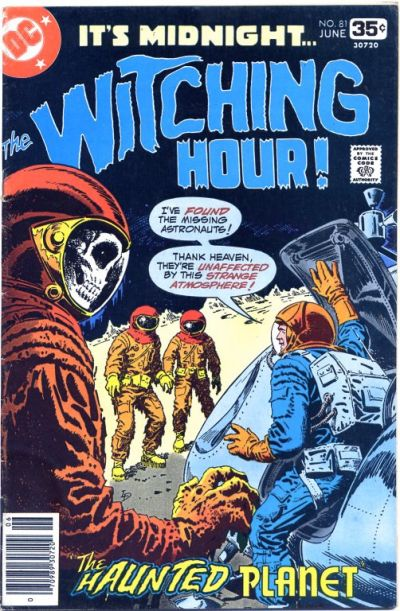 Cover for The Witching Hour (DC, 1969 series) #81