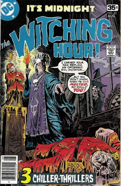 Cover for The Witching Hour (DC, 1969 series) #83