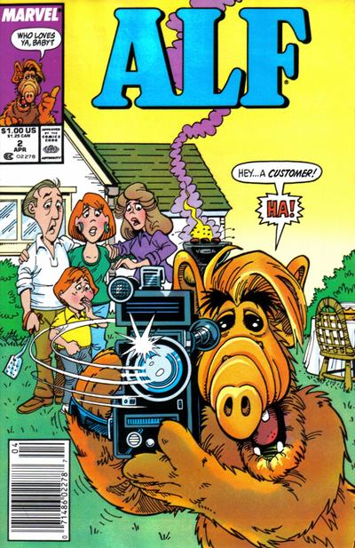 Cover for ALF (Marvel, 1988 series) #2