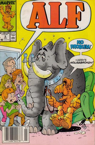 Cover for ALF (Marvel, 1988 series) #5 [Direct]