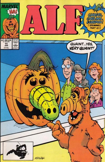 Cover for ALF (Marvel, 1988 series) #11