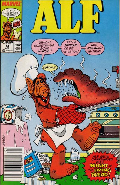 Cover for ALF (Marvel, 1988 series) #14