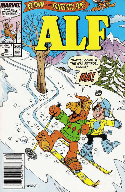 Cover for ALF (Marvel, 1988 series) #16
