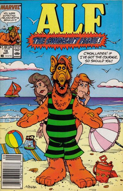 Cover for ALF (Marvel, 1988 series) #19