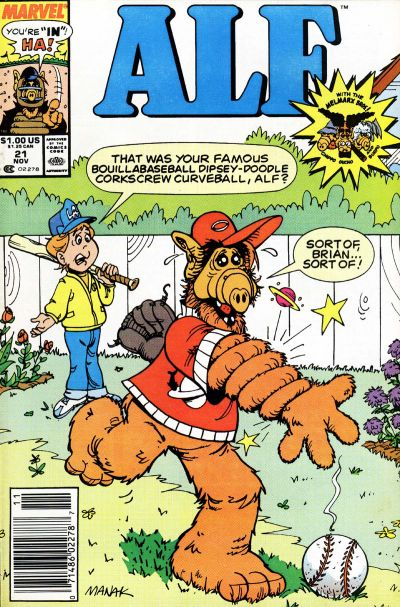Cover for ALF (Marvel, 1988 series) #21