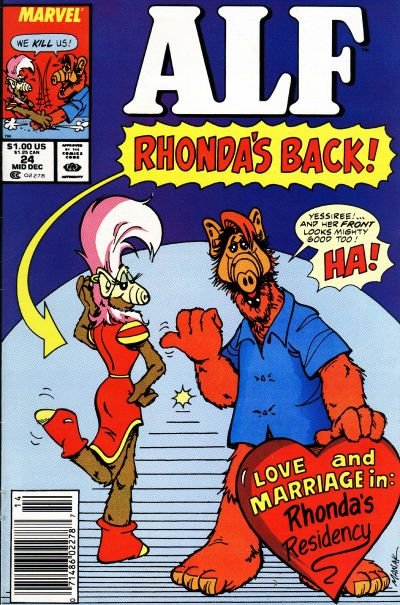 Cover for ALF (Marvel, 1988 series) #24