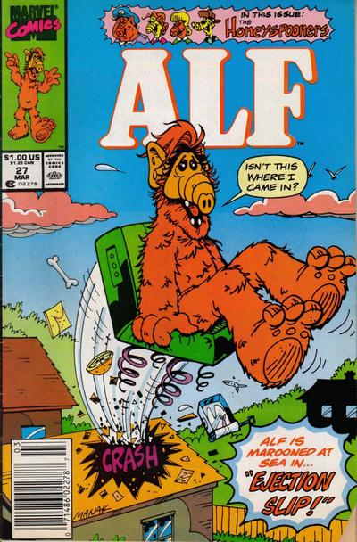 Cover for ALF (Marvel, 1988 series) #27