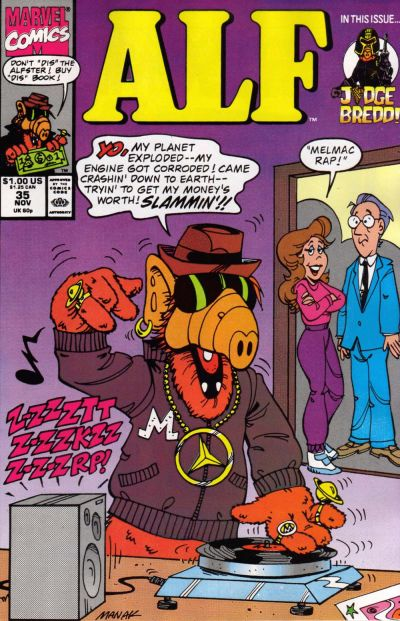 Cover for ALF (Marvel, 1988 series) #35
