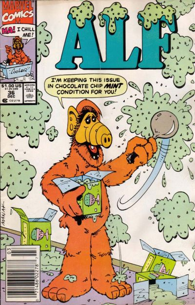 Cover for ALF (Marvel, 1988 series) #36 [Direct Edition]