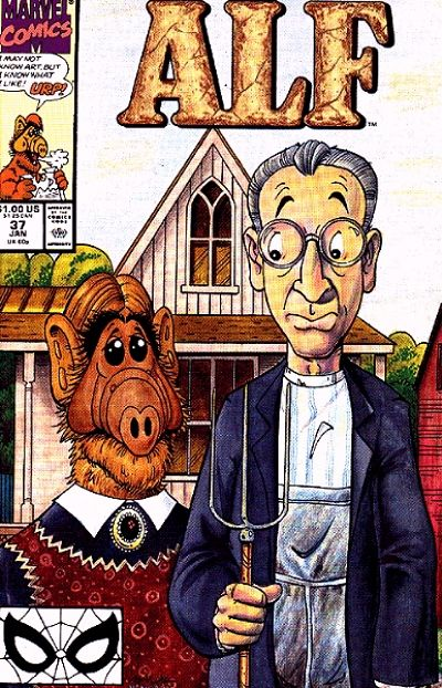 Cover for ALF (Marvel, 1988 series) #37 [Direct]