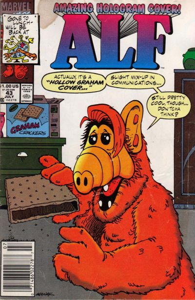 Cover for ALF (Marvel, 1988 series) #43 [Direct Edition]