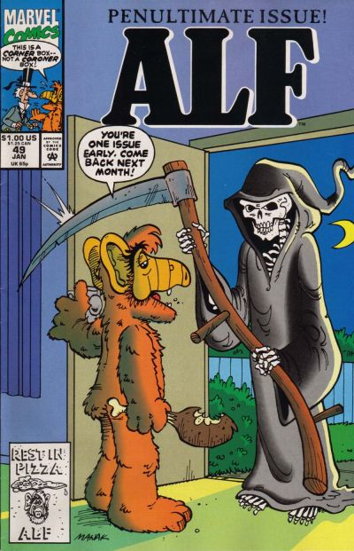 Cover for ALF (Marvel, 1988 series) #49