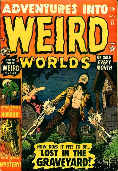 Cover for Adventures Into Weird Worlds (Marvel, 1952 series) #12