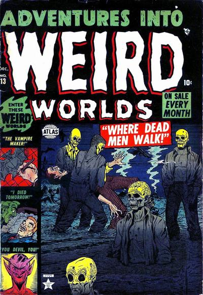 Cover for Adventures Into Weird Worlds (Marvel, 1952 series) #13